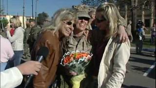 Camp Pendleton Marines returns home from Iraq, Feb. 2007