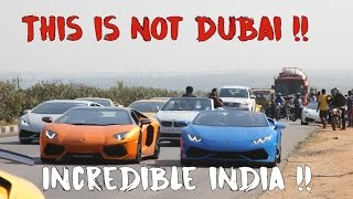 17 Lamborghinis Drive 400KMS in India | #124