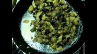 Гороховый суп-пюре с грибами(Как приготовить гороховый суп-пюре с грибами и копчеными ребрами, очень вкусный рецепт, подробнее на моем..., 2013-04-02T18:45:30.000Z)