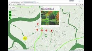 Bài 6:  Google map javascript API -  Directions, Distance matrix Free HD Video