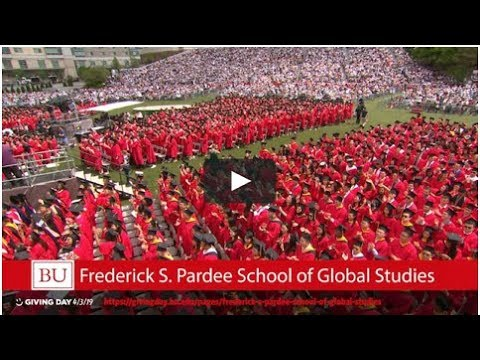 BU Pardee School of Global Studies Giving Day Video-Pt 1