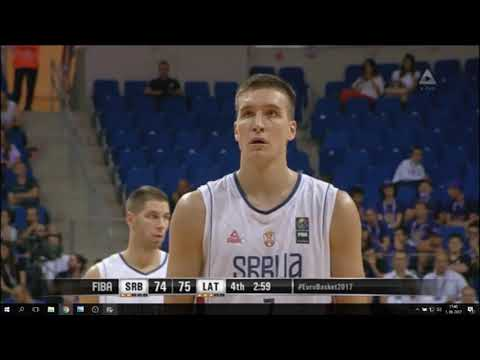 Bogdan Bogdanović Full Highlights vs Latvia | 30 POINTS! | Eurobasket 2017