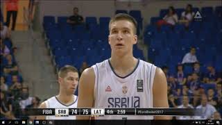 Bogdan Bogdanović Full Highlights vs Latvia | 30 POINTS! | Eurobasket 2017