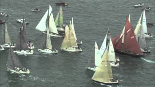 2013 Rolex Fastnet Race  DailyVideo RACE START