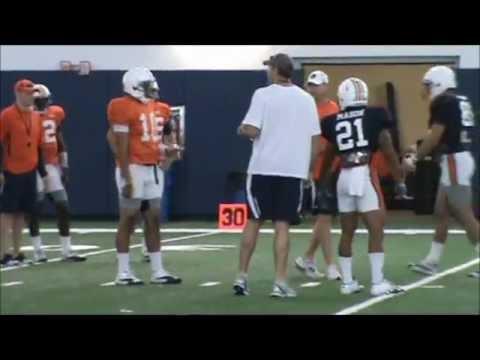 Auburn Football 2012Practice 3 Video