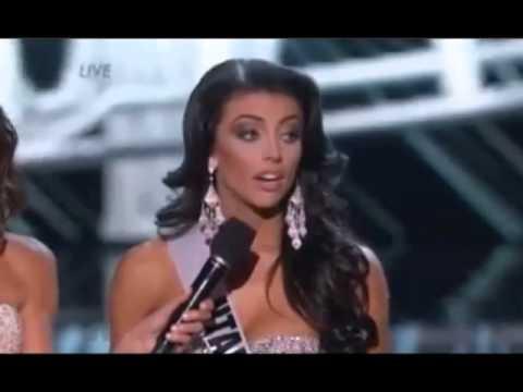 Cringe! Miss Utah Fumbles On Income Inequality Question