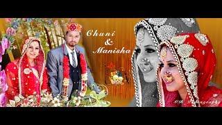 Wedding Hightlight !! Lovely couple !!  !! Chuni weds Manisha !! VR Creation presents !!