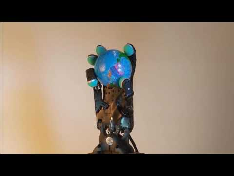 Shadow Robot Dexterous Hand rotating a sphere