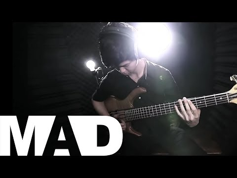 [MAD] Just Dance - Dirty Loops (Bass Cover) | Benz Worachet