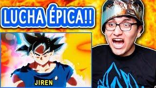 """Dragon ball super capitulo 109 y 110 """"goku vs jiren la lucha del aÑo"""" reacciÓn y critica parte 1"""