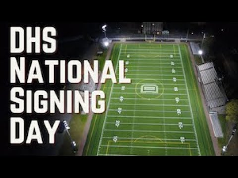 Dartmouth High School National Signing Day