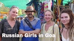 What Russian Girls Think About India | Goa
