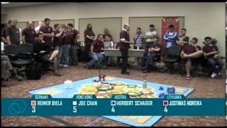 Catan World Championship Finals 2012