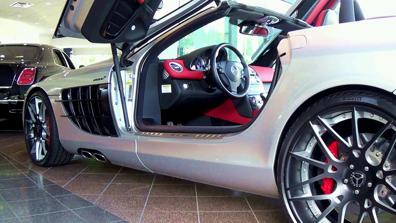 Mercedes Benz SLR McLaren Supercar