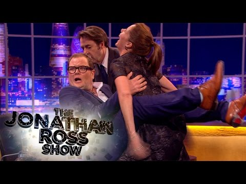 Darcey Bussell Gives Alan Carr A Dance Lesson - The Jonathan Ross Show