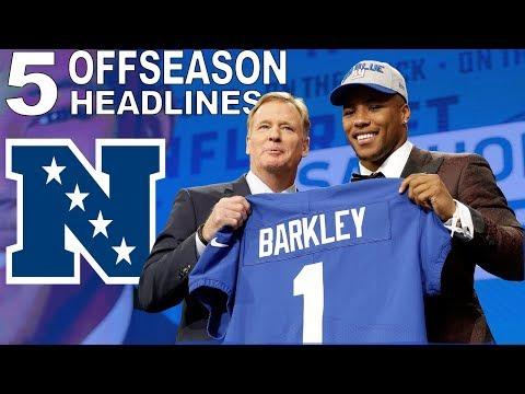 Every NFC Team's Top 5 Offseason Headlines | NFL
