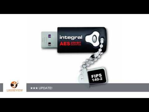 Integral 8GB Crypto Drive - FIPS 140-2 Encrypted USB   Review/Test