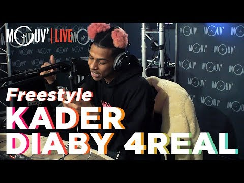 Youtube: KADER DIABY 4REAL:«Freestyle» (Live @Mouv' Studios)