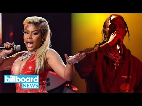 Travis Scott & Nicki Minaj Vying for No. 1 on Next Week's Billboard 200 Chart | Billboard News Mp3