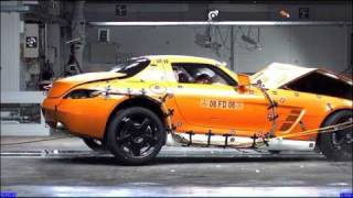 Crash Test New Mercedes SLS AMG 2010