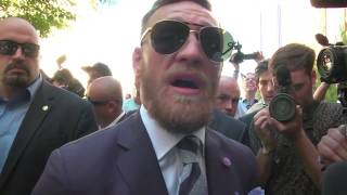 Conor McGregor: 'Any town I touch down on is mine' | ESPN
