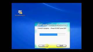 Как пользоваться JetFlash Recovery Tool