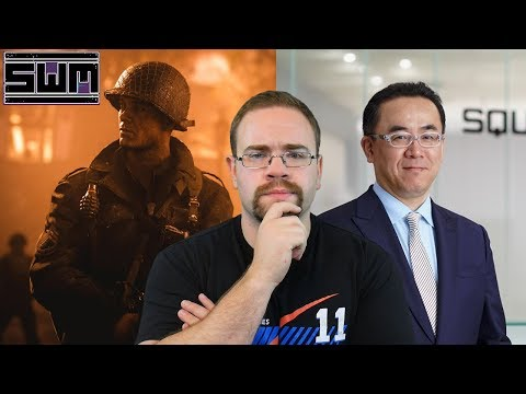 News Wave! - Square Enix Aggressively Pursues The Nintendo Switch And Call of Duty Sales Surge!