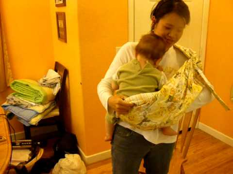 Baby Sling-Saddle Carry - by slingcarrier.com image