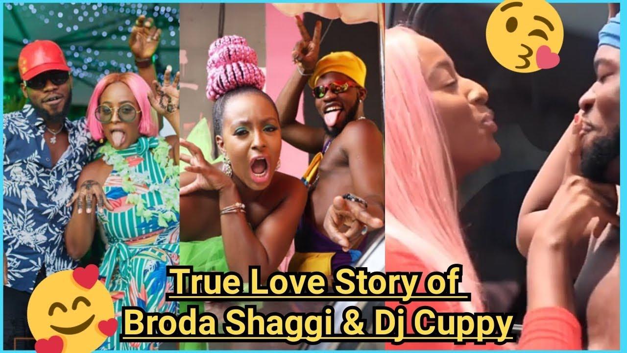 True Love Story of Broda Shaggi and DJ Cuppy • 2020 VIDEO