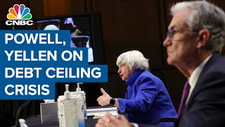 Powell and Yellen warn of economic crisis if the debt ceiling isn't raised