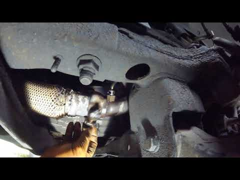 Как вытянуть dpf Volkswagen Crafter \ How to pull out dpf Vo