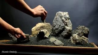 Карпатский камень. Хардскейп для аквариума от 120 литров.