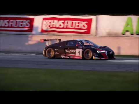 Audi R8 LM Racing at Silverstone GP Using DFGT Steering Wheel | Project Cars 2 PS4