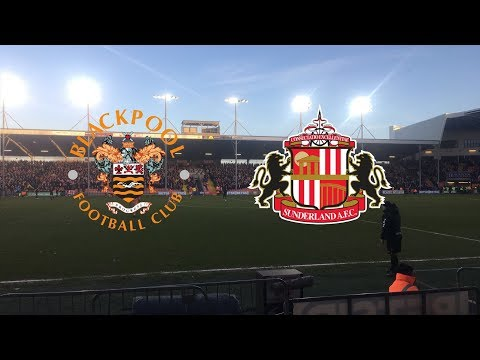 7,800 SUNDERLAND FANS AT BLACKPOOL! | BLACKPOOL VS SUNDERLAND *MINI* VLOG