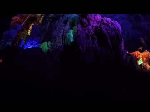 Reed flute cave in Guilin. Amazing!