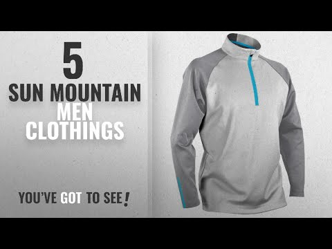 top-10-sun-mountain-men-clothings-[-winter-2018-]:-sun-mountain-mens-thermalflex-1/2-zip-pullover