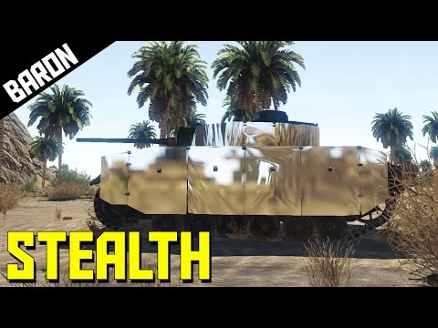STEALTH TANK!  I Did Nazi That Coming  - War Thunder 1.55