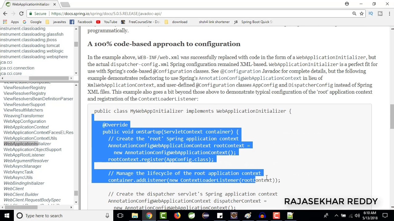 Spring web mvc form example with annotations | spring
