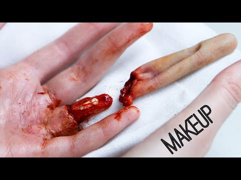 Degloved Finger Makeup Tutorial | Freakmo