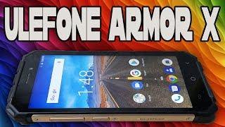 Ulefone Armor X - БЮДЖЕТНЫЙ ЗАЩИЩЕННЫЙ СМАРТФОН С IP68 И 5500mah