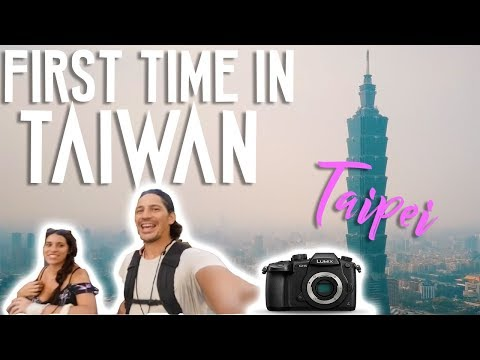 FIRST TIME IN TAIWAN // Walking Tour, Food, Night Market
