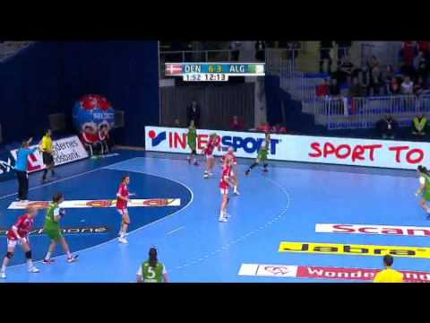 Denmark v Algeria Group B Women's World Handball 2013