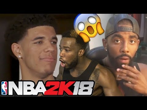 THERES IS NO WAY!! NBA PLAYERS REACTING TO THEIR NBA 2k18 PLAYER RATINGS! Lonzo Ball,Kyrie,P.G.