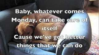 Raining on Sunday Keith Urban lyrics
