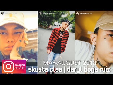 SKUSTA CLEE【Instagram Stories】 COMPILATION 2: MAY-AUGUST 2018