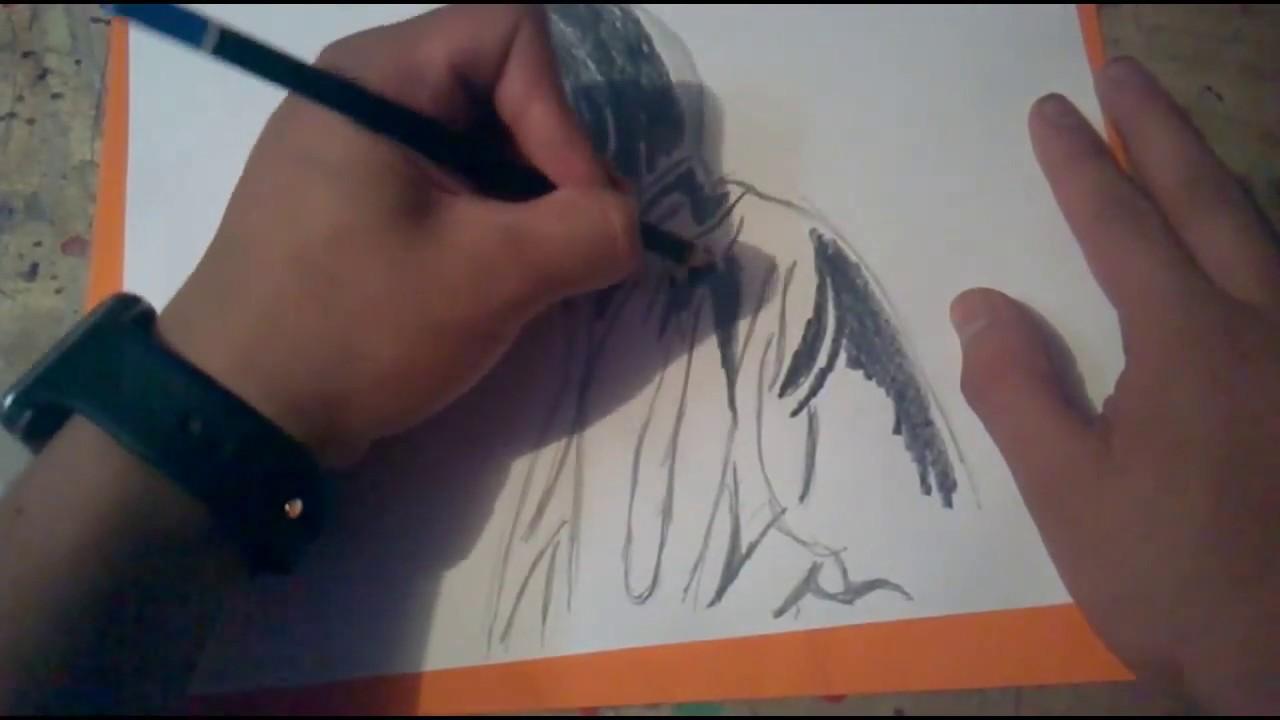 Como dibujar a Alan Walker a lapiz Speed Drawing (2017) - YouTube