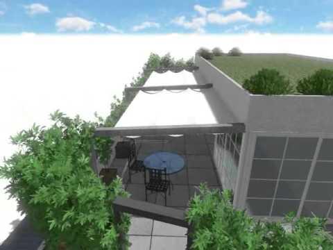 Allestimento e progettazione di un terrazzo - YouTube
