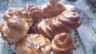 🥨Вкусные и пышные булочки к чаю 🥨Delicious and lush buns for tea