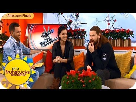 Talk: Stefanie Kloß und Rea Garvey | SAT.1 Frühstücksfernsehen