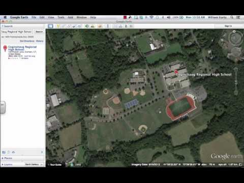 Google Earth: Compass, View and Scale Controls